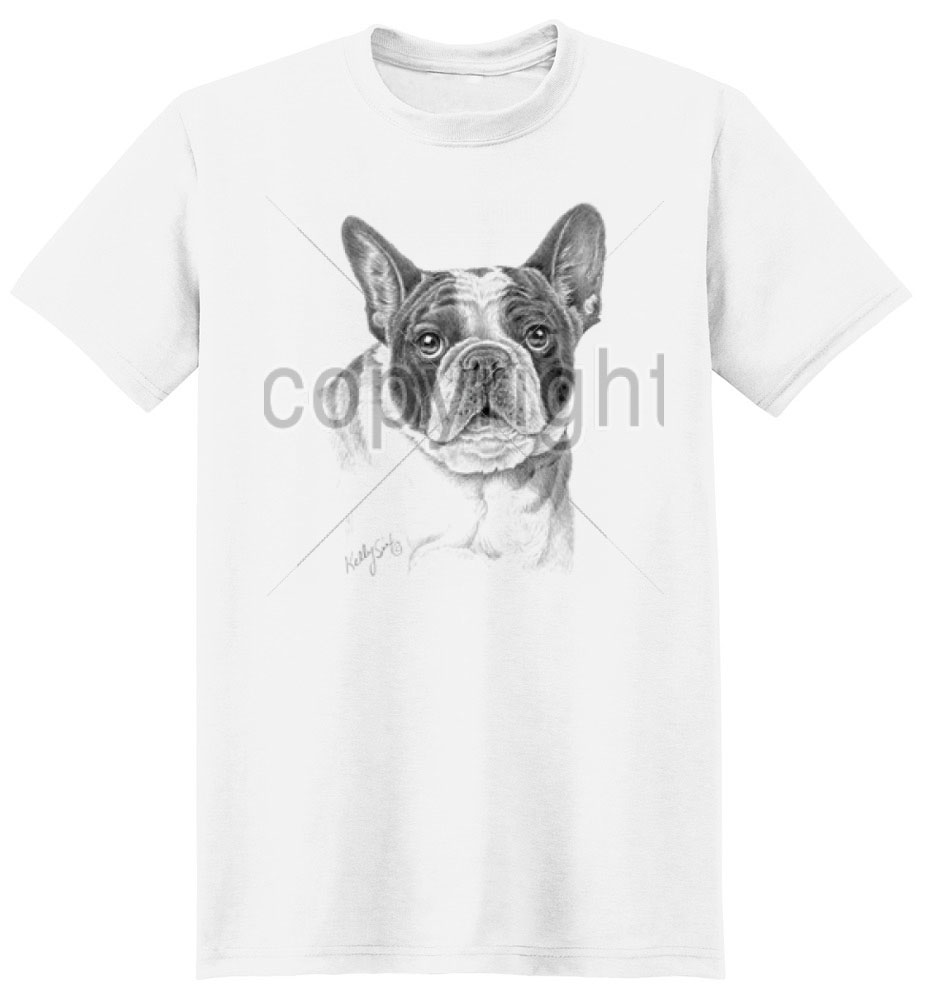 Boston Terrier T Shirt by Mike Sibley