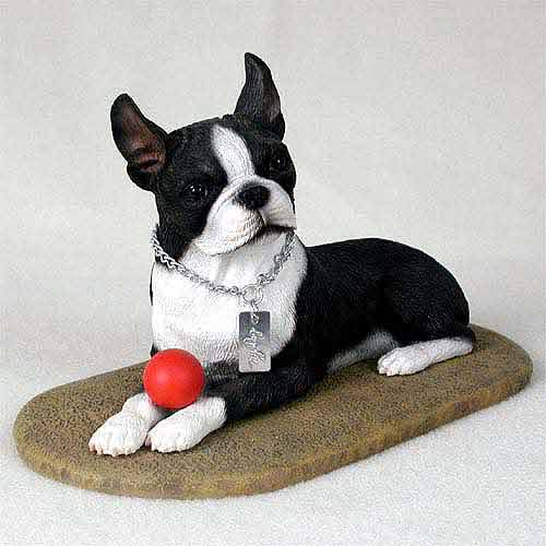 Boston Terrier Figurine MyDog