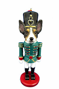 Rat Terrier Ornament Nutcracker