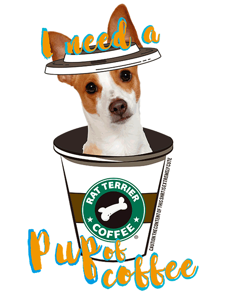 Rat Terrier T Shirt - Coffee Mug