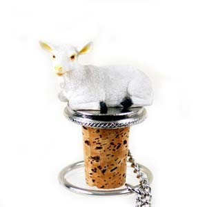 Goat Bottle Stopper
