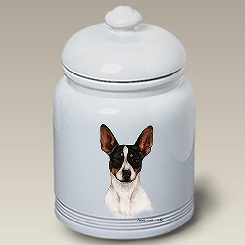 Rat Terrier Treat Jar