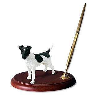Fox Terrier Pen Holder (Smooth)