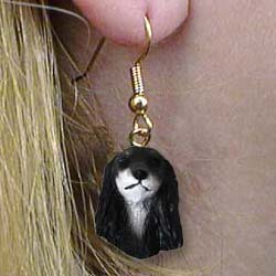 Saluki Authentic Earrings