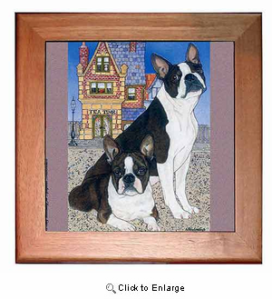 Boston Terrier Trivet