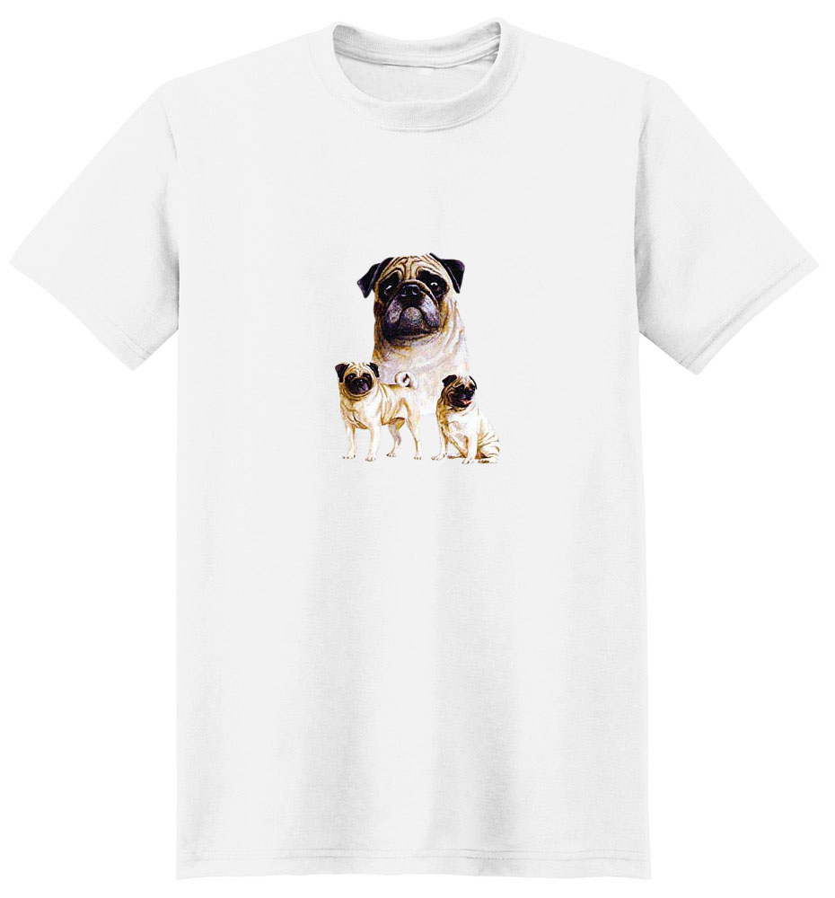 Pug T-Shirt - Best Friends