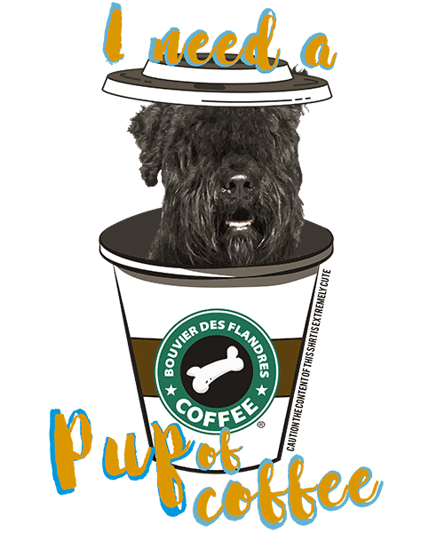Bouvier Des Flandres T Shirt - Coffee Mug