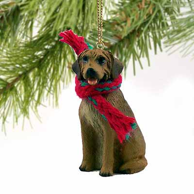 Rhodesian Ridgeback Tiny One Christmas Ornament