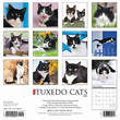 2020 Tuxedo Cats Calendar Willow Creek