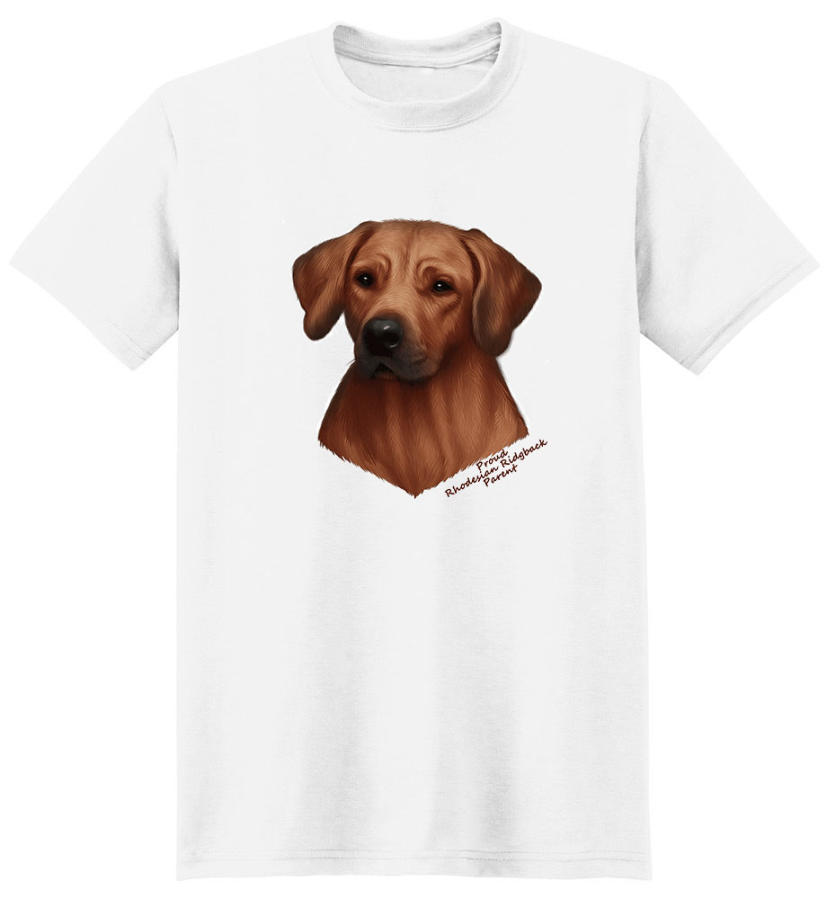 Rhodesian Ridgeback T Shirt - Proud Parent