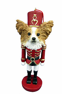 Papillon Ornament Nutcracker