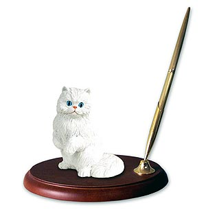 Persian Cat Pen Holder
