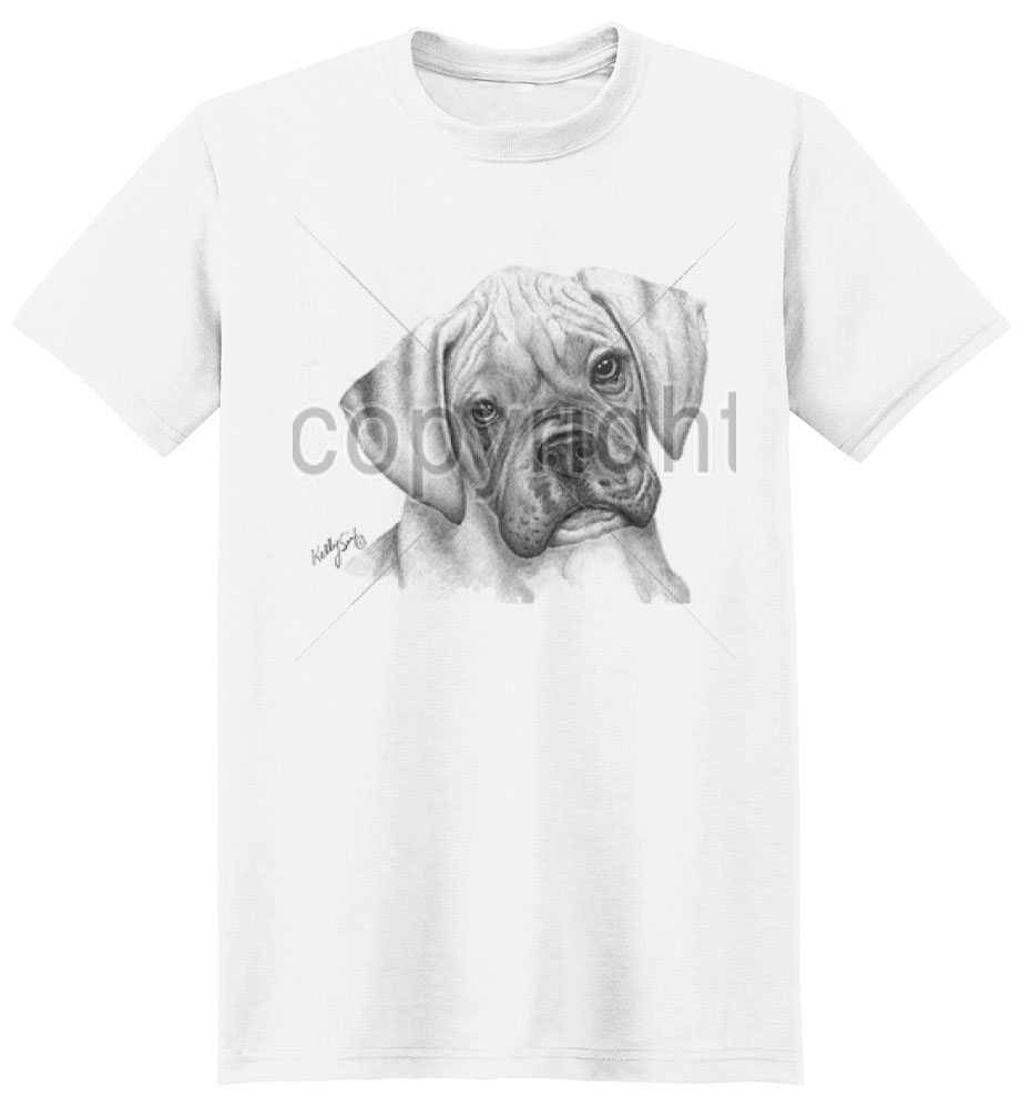 Boxer T Shirt Puppy By Kelly Six