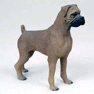 Boxer Figurine Fawn Uncropped