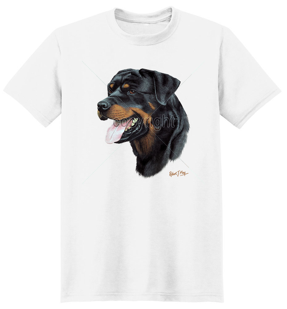 Rottweiler T Shirt by Robert May