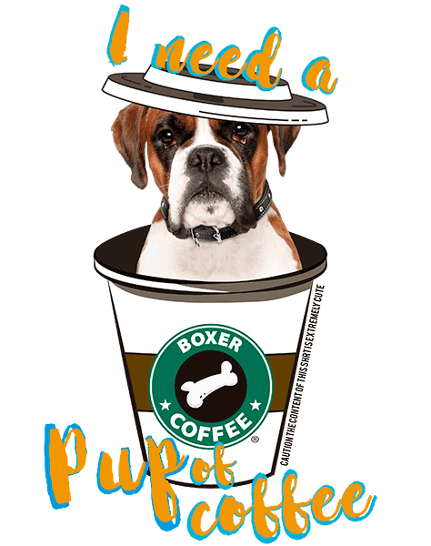 Boxer T Shirt - Coffee Mug
