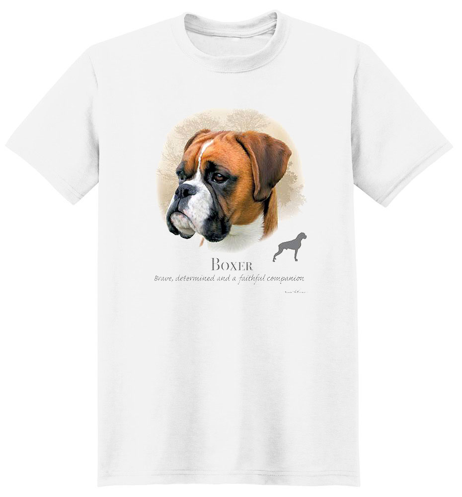Boxer T Shirt by Howard Robinson