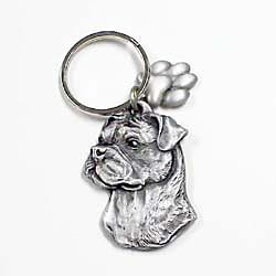 Uncropped Boxer Keychain