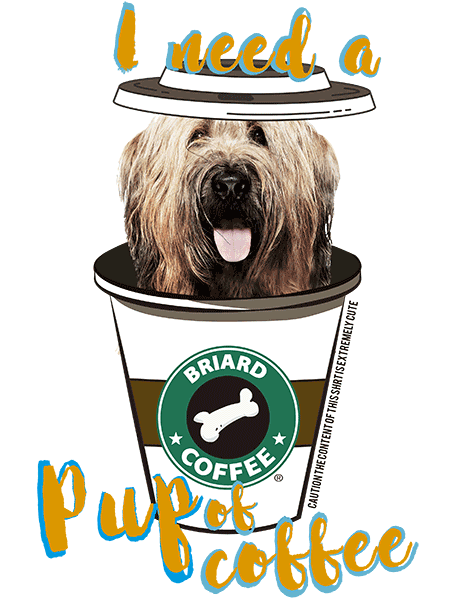 Briard T Shirt - Coffee Mug