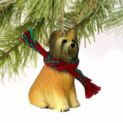 Briard Tiny One Christmas Ornament