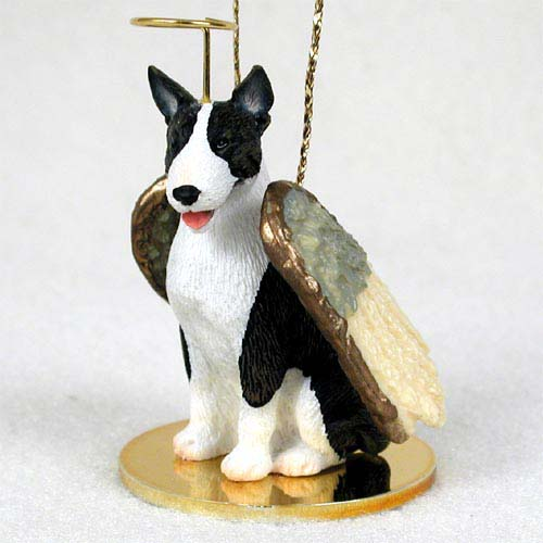Bull Terrier Angel Ornament Brindle
