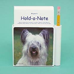 Skye Terrier Hold-a-Note