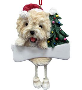 Cairn Terrier Christmas Tree Ornament - Personalize
