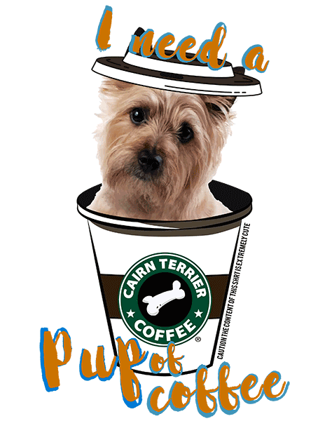 Cairn Terrier T Shirt - Coffee Mug