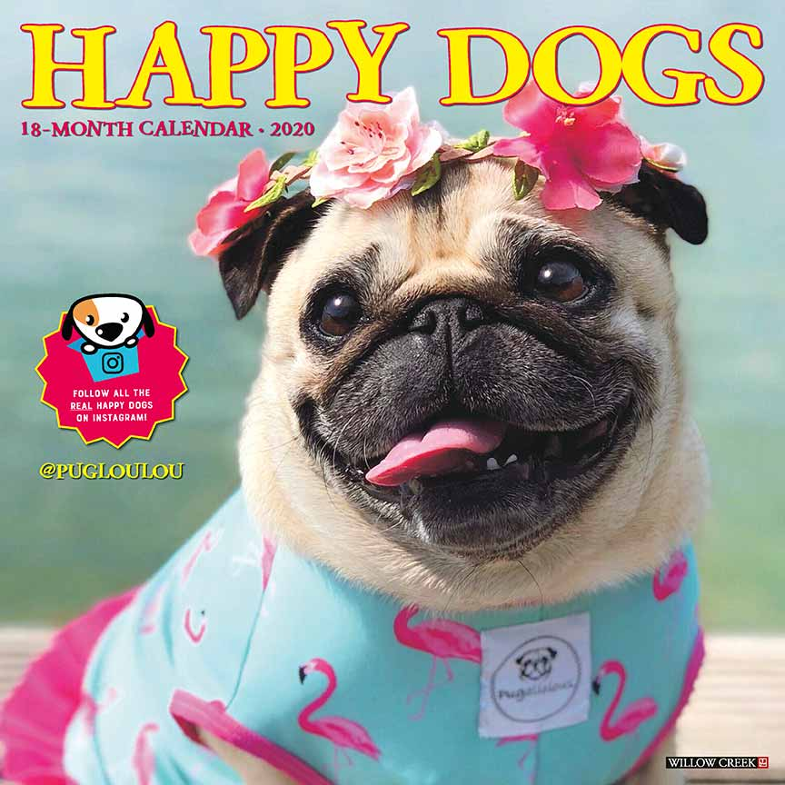 2020 Happy Dogs Calendar
