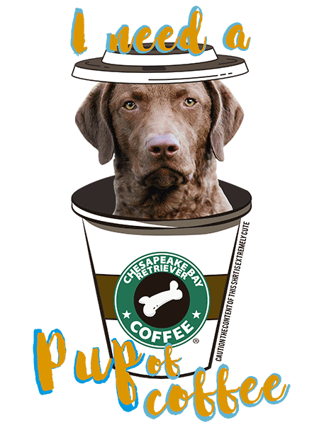 Chesapeake Bay Retriever T Shirt - Coffee Mug