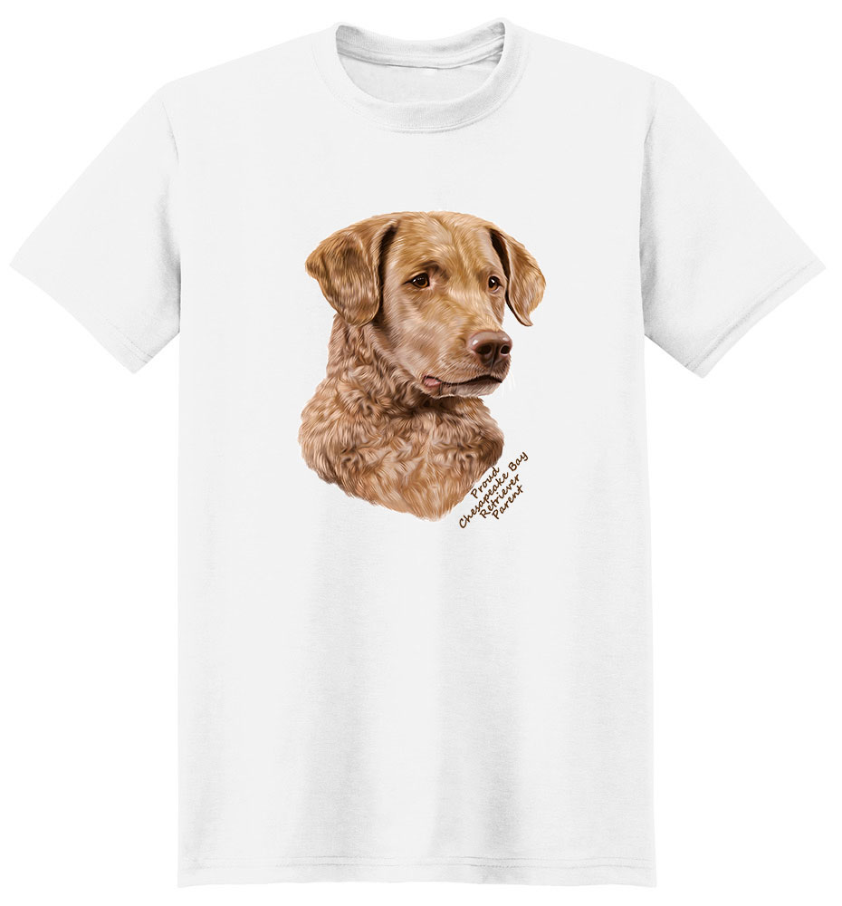 Chesapeake Bay Retriever T Shirt - Proud Parent