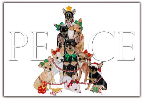 Chihuahua Christmas Cards