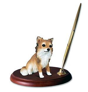 Chihuahua Pen Holder (Long Haired)