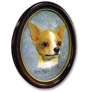 Chihuahua Sculptured Portrait