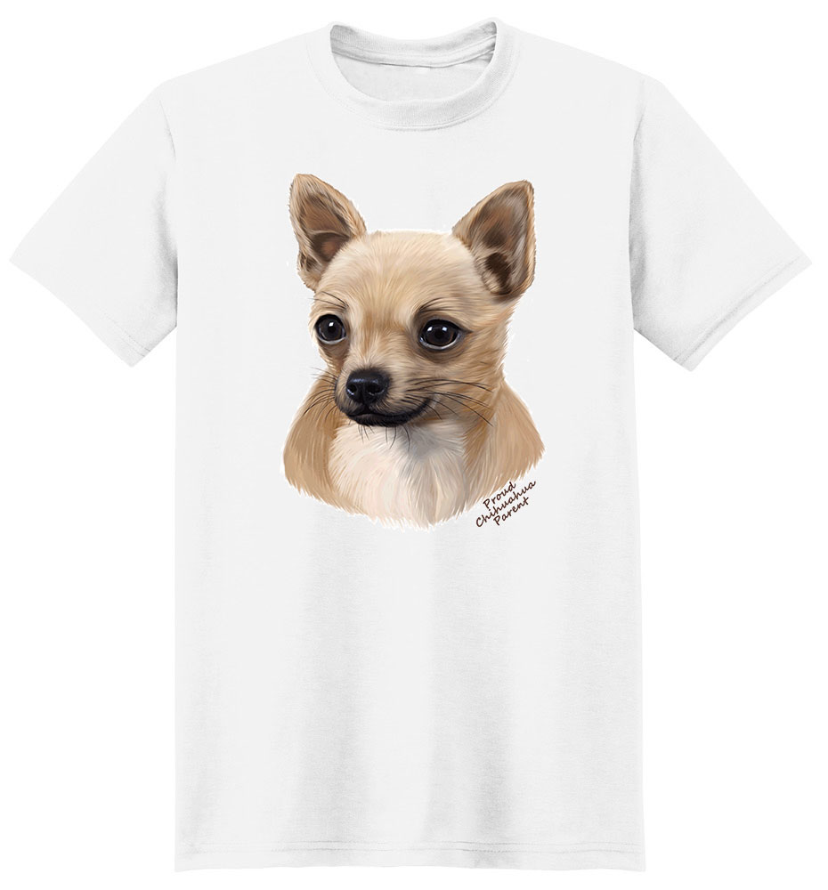 Chihuahua T Shirt - Proud Parent
