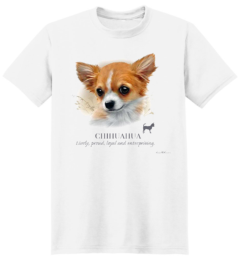Chihuahua T Shirt by Howard Robinson