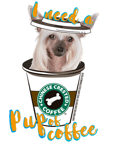 Chinese Crested T Shirt - Coffee Mug