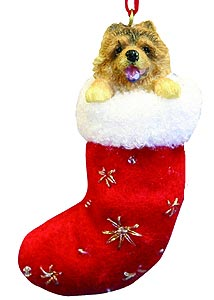 Chow Chow Christmas Stocking Ornament