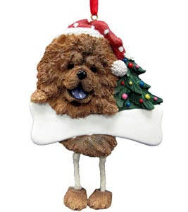 Chow Chow Christmas Tree Ornament - Personalize