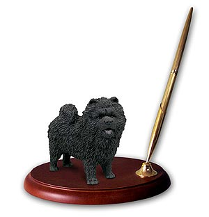 Chow Chow Pen Holder (Black)
