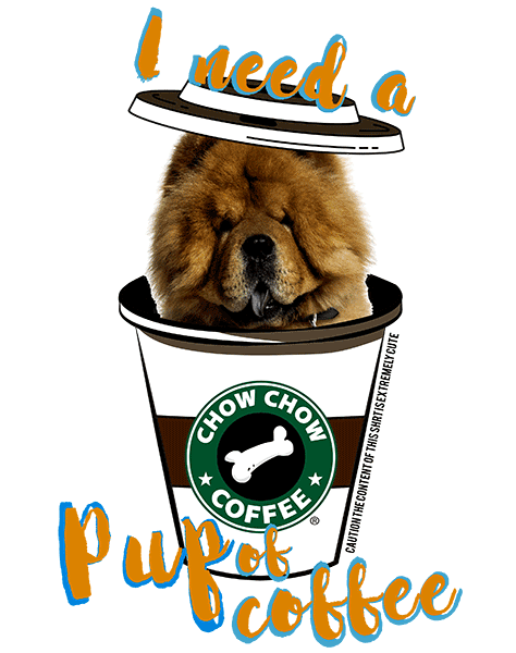 Chow Chow T Shirt - Coffee Mug