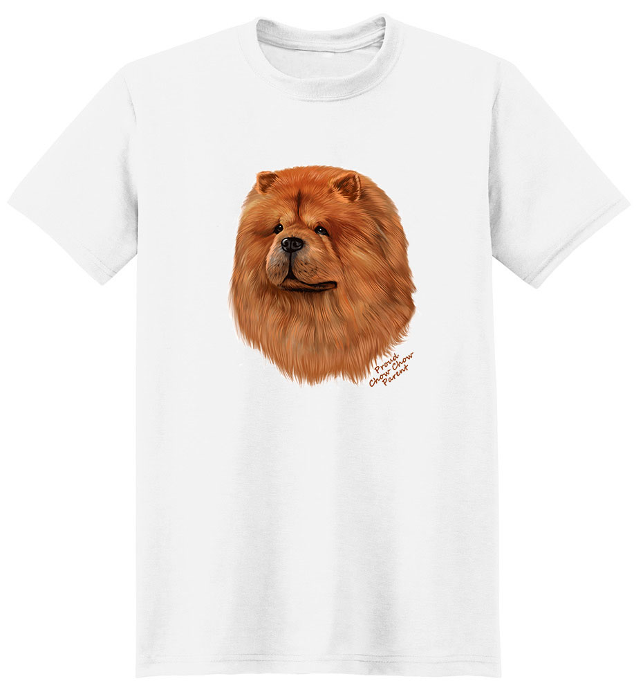 Chow Chow T Shirt - Proud Parent