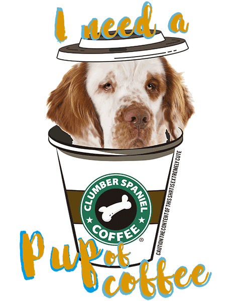 Clumber Spaniel T Shirt - Coffee Mug
