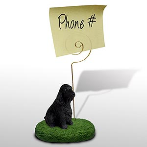 Cocker Spaniel Note Holder