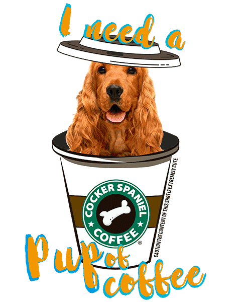 Cocker Spaniel T Shirt - Coffee Mug