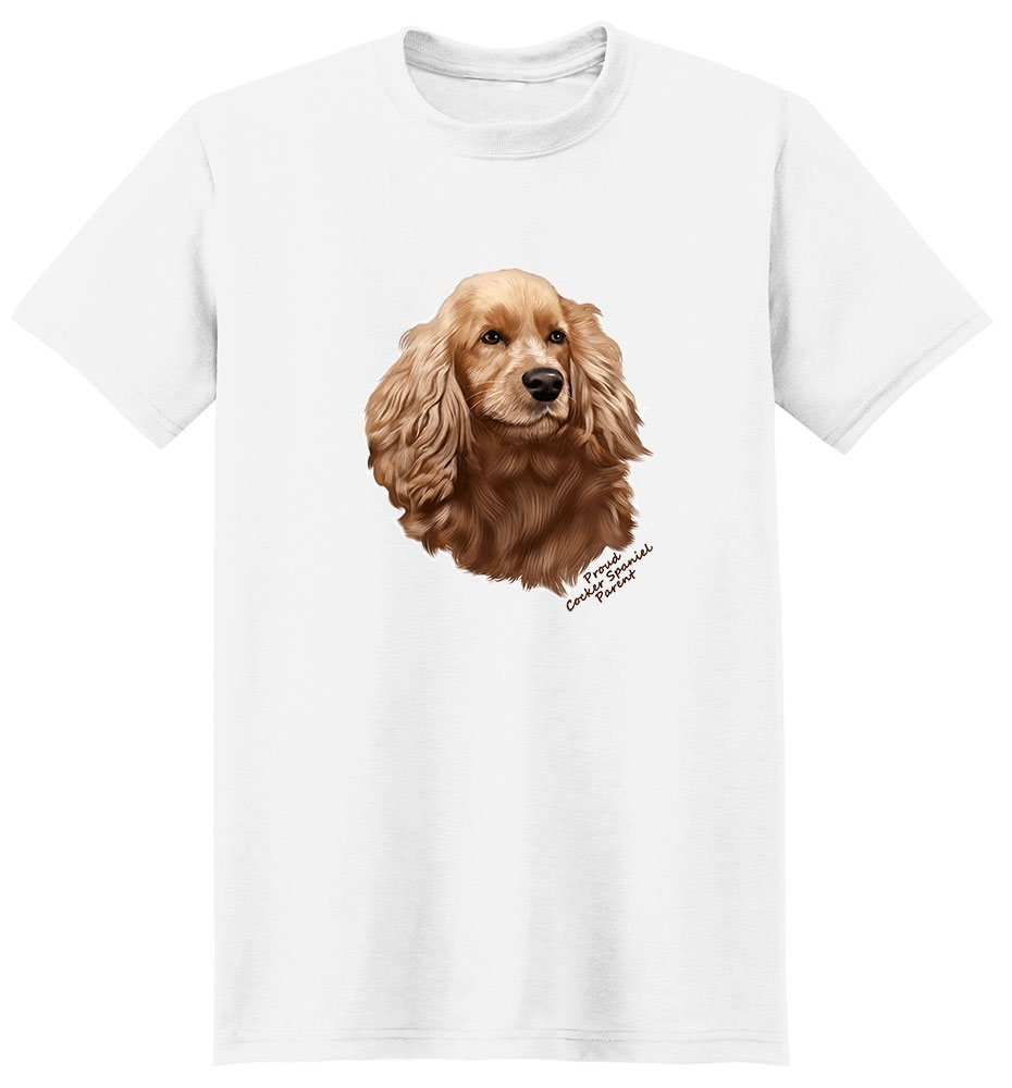 Cocker Spaniel T Shirt - Proud Parent