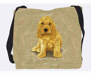 Cocker Spaniel Tote Bag (Puppy)
