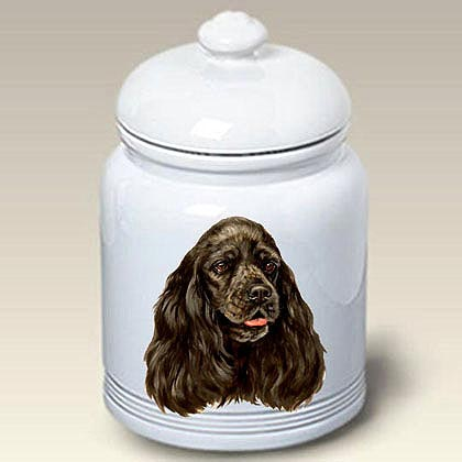 Cocker Spaniel Treat Jar