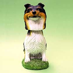 Collie Bobble Head