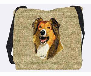 Collie Tote Bag (Rough)